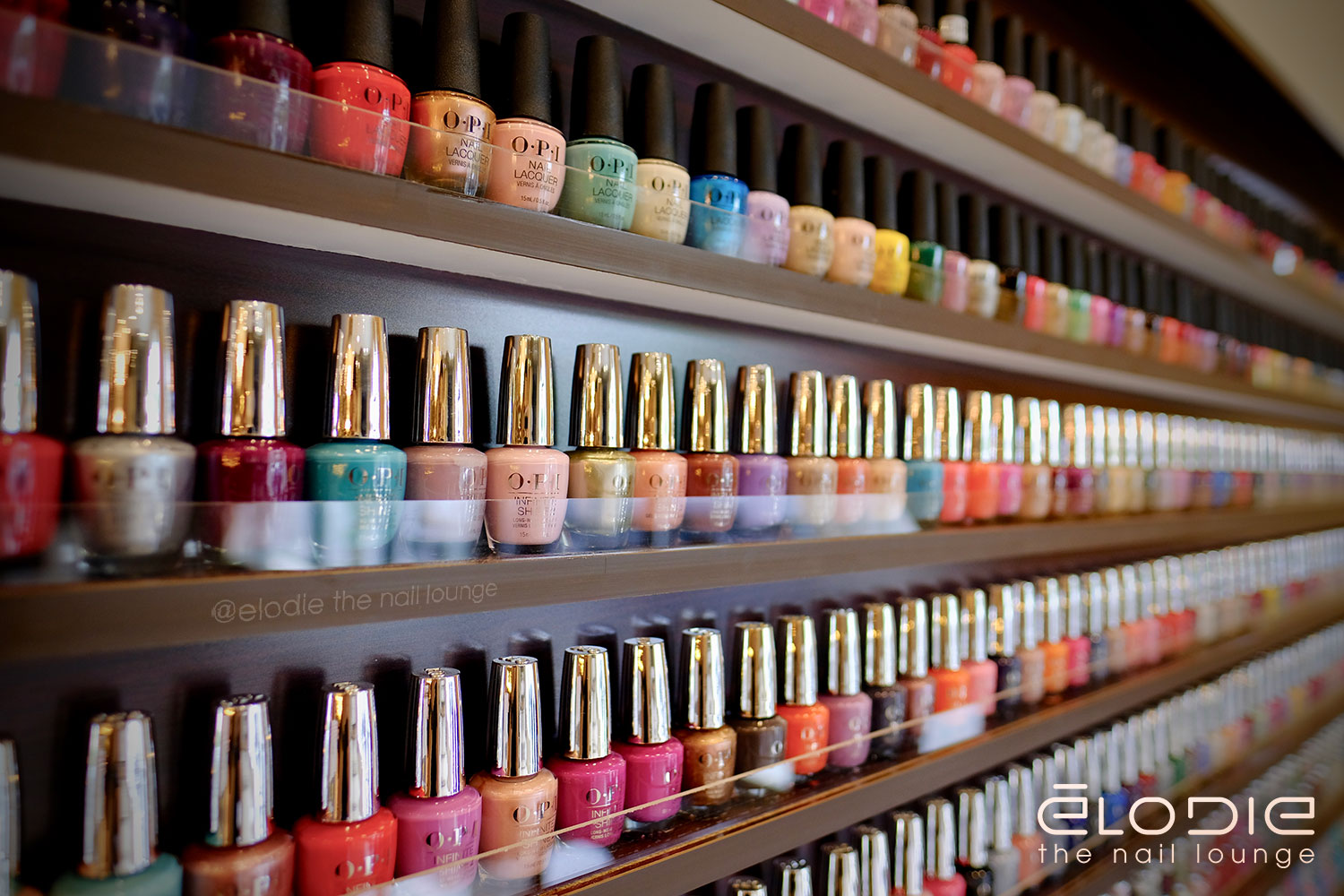 OPI InfiniteShine2 Nail Polishes at Elodie The Nail Lounge at Lewis Center Ohio